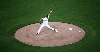 Madison Bumgarner on the mound | Getty Images