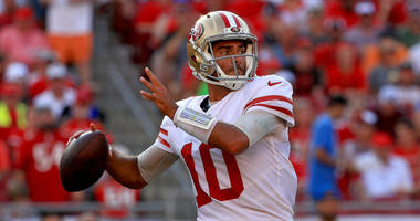 "The 49ers ""Jimmy G"" checks in from the road"