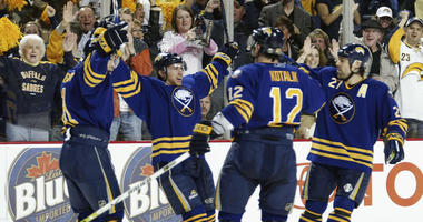 Sabres announce a return to royal blue