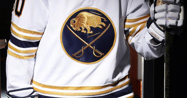 The Sabres reveal their third jersey for the 50th anniversay season