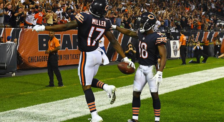 Anthony Miller reps Memphis on MNF