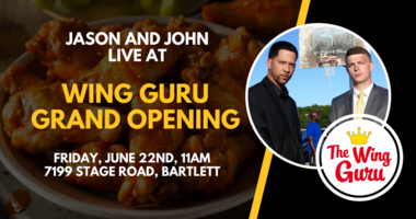 Jason and John Wing Guru Bartlett Grand Opening