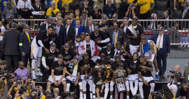 Warriors 2017 NBA Champions