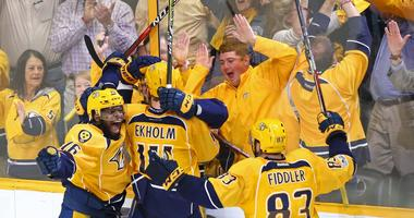 Predators win the Western Conference Finals/on to the Stanley Cup Finals