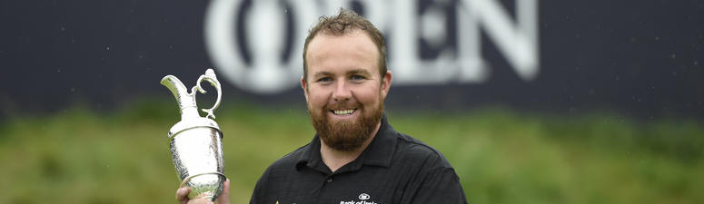 Lowry claims first golf major at The Open
