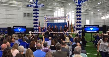 UB officially opens Murchie Family Fieldhouse