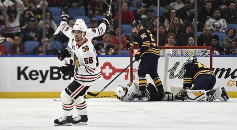 Sabres Embarrassed By The Blackhawks To Start Their Homestand Espn