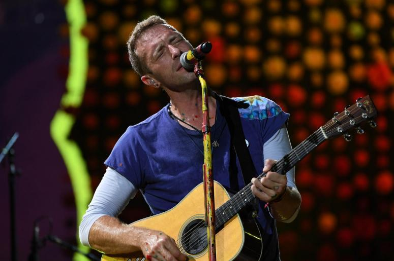 Chris Martin of Coldplay