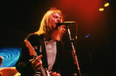 Kurt Cobain of Nirvana