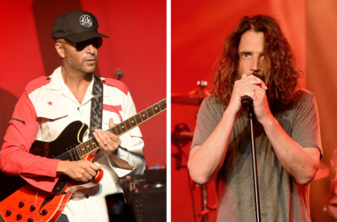 Tom Morello and Chris Cornell