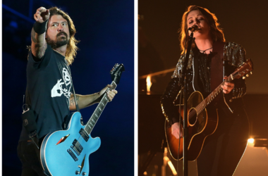 Dave Grohl and Brandi Carlile