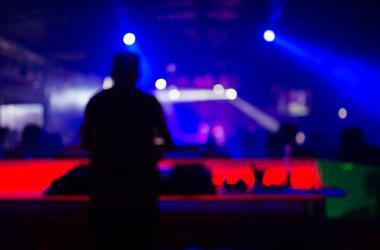 DJ at club