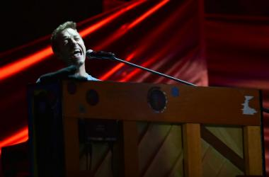 Musician Chris Martin performs live at the 2016 Global Citizen Festival held in New City's Central Park in New York
