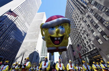 U.S.-NEW YORK-THANKSGIVING DAY PARADE