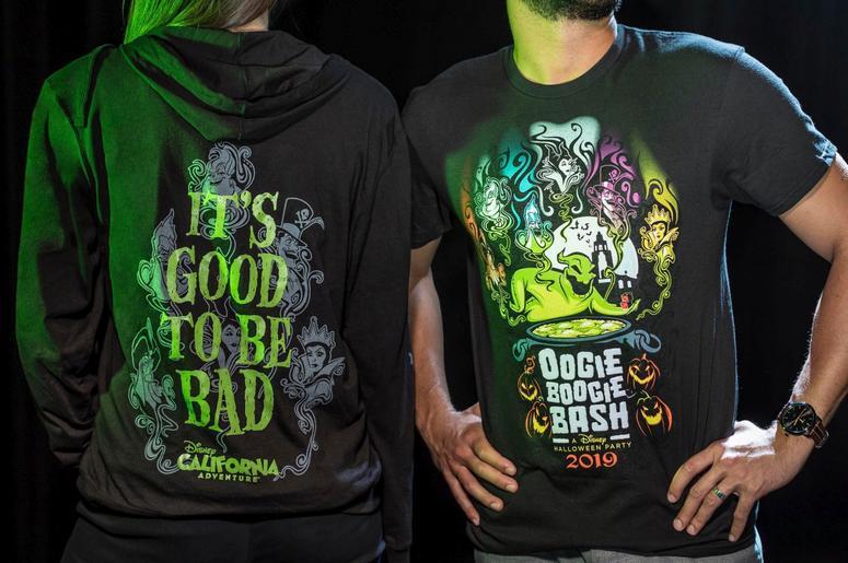 Oogie Boogie Bash Zip Fleece and Adult Tee