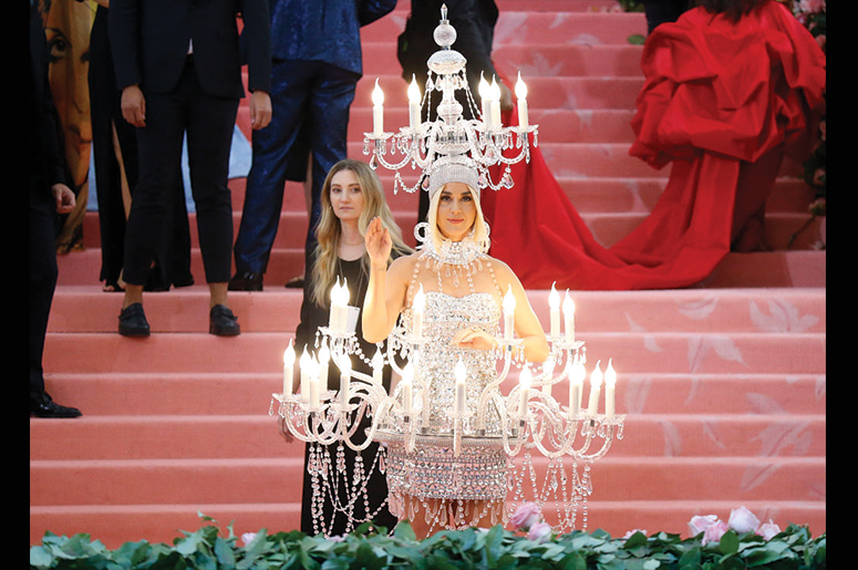 Katy Perry attends The 2019 Met Gala Celebrating Camp: Notes on Fashion at Metropolitan Museum of Art on May 06, 2019 in New York City. (Photo by John Lamparski/Getty Images)