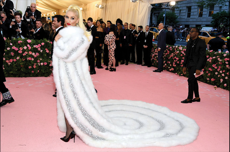 Gwen Stefani attends The 2019 Met Gala Celebrating Camp: Notes on Fashion at Metropolitan Museum of Art on May 06, 2019 in New York City. (Photo by Dimitrios Kambouris/Getty Images for The Met Museum/Vogue)