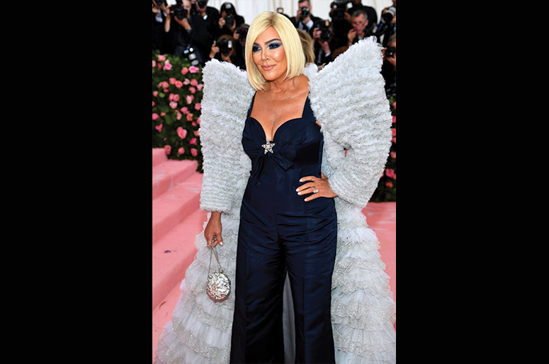 Kris Jenner attends The 2019 Met Gala Celebrating Camp: Notes on Fashion at Metropolitan Museum of Art on May 06, 2019 in New York City. (Photo by Dimitrios Kambouris/Getty Images for The Met Museum/Vogue)
