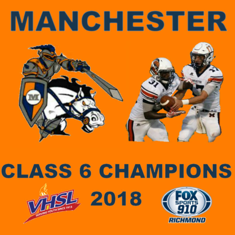 Manchester defeated Freedom-Woodbridge 49-7 to win its first state championship in football in school history
