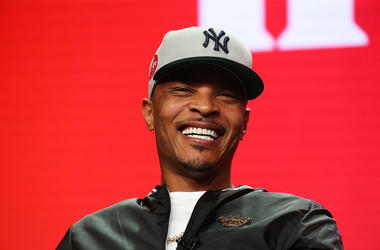 Rapper T.I. of the television show 'The Grand Hustle' speaks during the Viacom segment of the Summer 2018 Television Critics Association Press Tour at the Beverly Hilton Hotel on July 27, 2018 in Beverly Hills, California