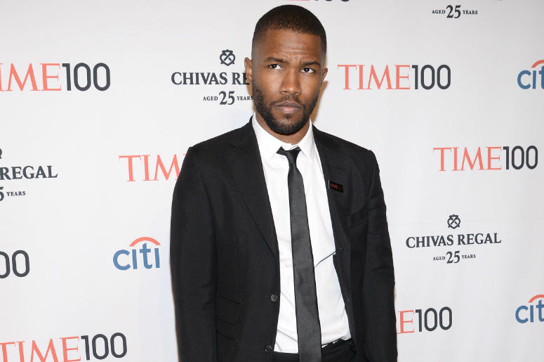 Frank Ocean attends the TIME 100 Gala, TIME's 100 most influential people in the world, at the Jazz at Lincoln Center in New York, NY, on April 29, 2014.