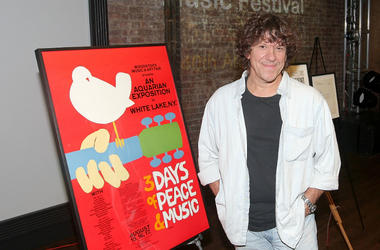 Woodstock Music Festival co-producer Micael Lang attends a celebration of the 40th Anniversary of Woodstock at the at Rock & Roll Hall of Fame Annex NYC on August 13, 2009