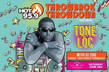 HOT 959 Throwback Throwdown feat. Tone Loc