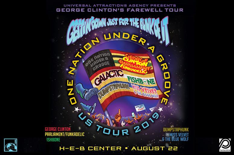 George Clinton P Funk H-E-B Center at Cedar Park
