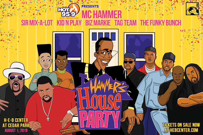 HOT 95.9 Presents Hammer's House Party