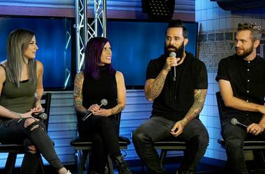 """Skillet talks about the meaning behind their song """"Victorious"""""""