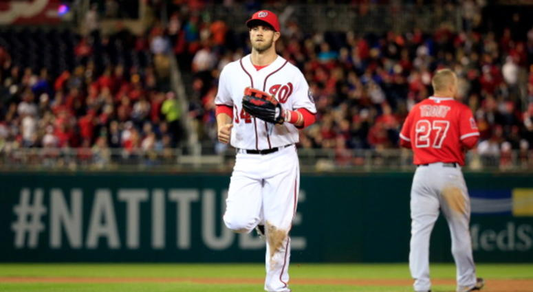Bryce Harper and Mike Trout