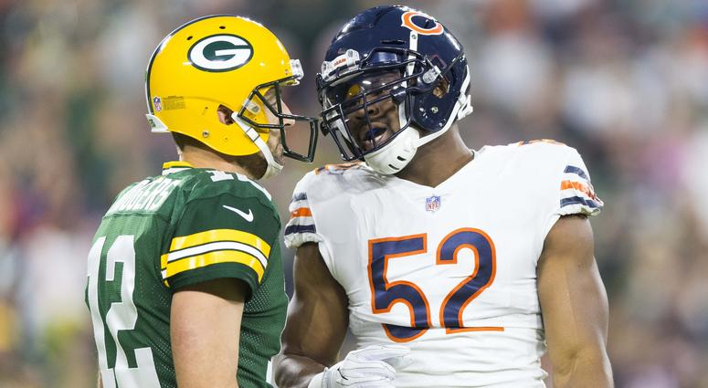 Aaron Rodgers and Khalil Mack