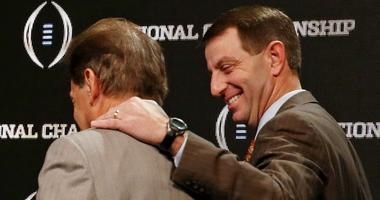 Nick Saban and Dabo Swinney