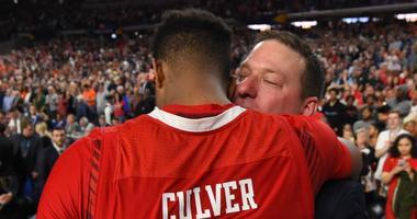 Jarrett Culver and Chris Beard