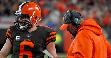 Baker Mayfield and Freddie Kitchens