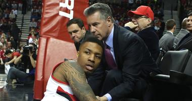 Neil Olshey and Damian Lillard