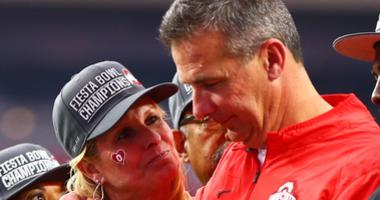 Urban Meyer and Shelley Smith