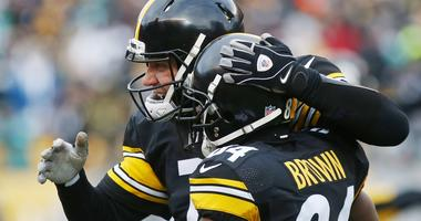 Ben Roethlisberger and Antonio Brown