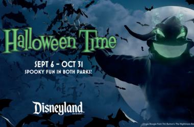 Halloween Time Disneyland