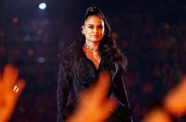 Kehlani performs