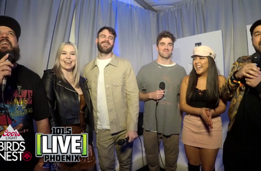 The Chainsmokers at Coors Light Birds Nest 2019