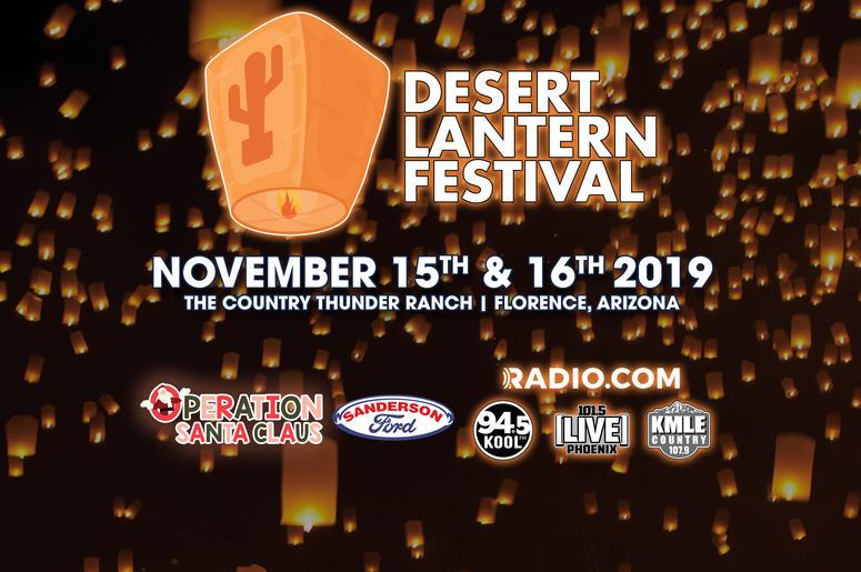 DESERT LANTERN FESTIVAL - Nov 15th & 16th