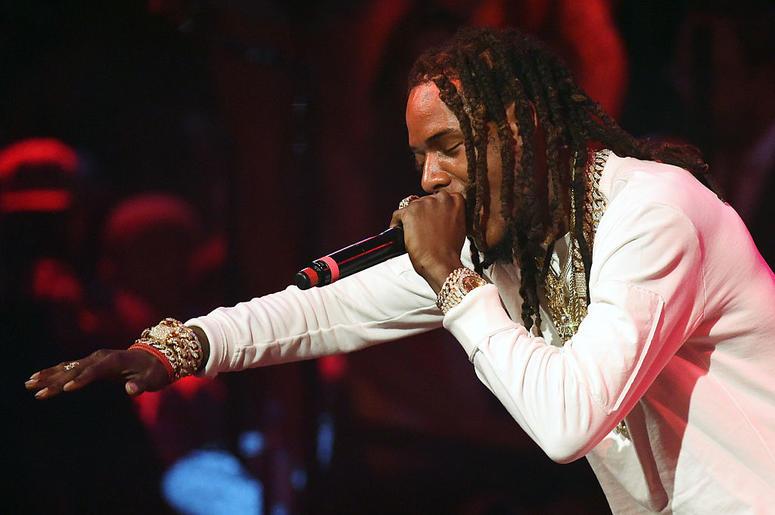 Rapper Fetty Wap performs at Drai's Beach Club - Nightclub at The Cromwell Las Vegas on September 18, 2016 in Las Vegas, Nevada