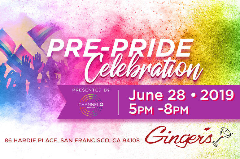 Pre SF Pride Celebration at Ginger*s Hosted by Jai Rodriguez