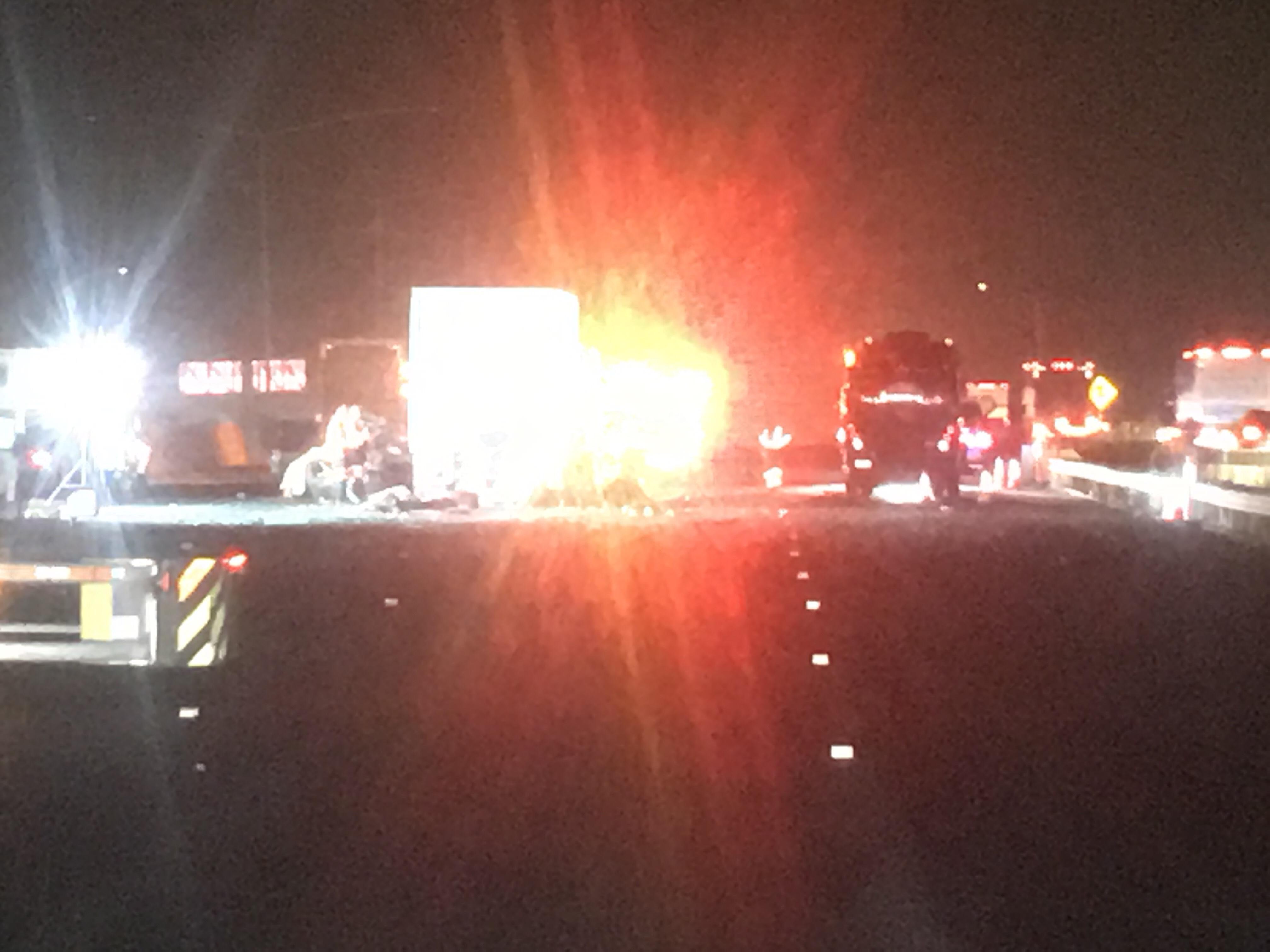 Crash on Interstate 880 Nimitz Freeway Kills 2 Drivers
