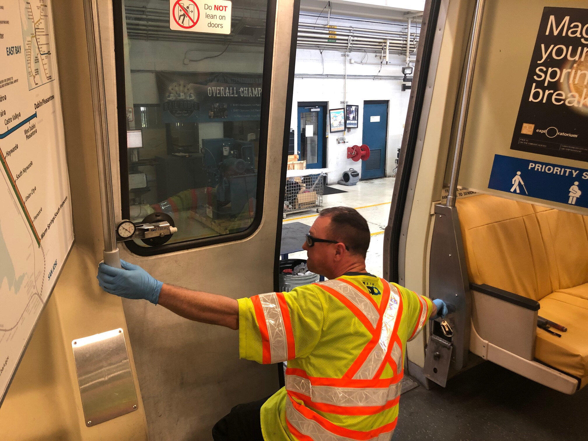 Repairing BART Doors Is A Daily Project | KCBS 740AM | 106 9 FM