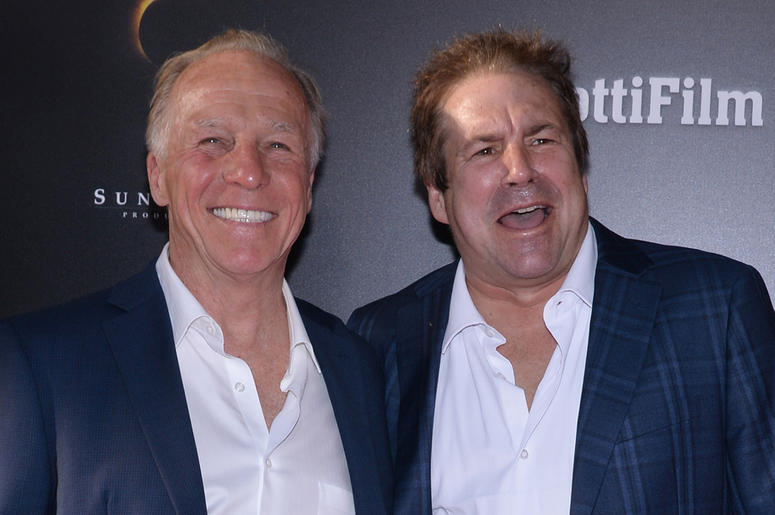 """(L-R) Jackie Martling and John Melendez attend the """"GOTTI"""" New York Premiere at the SVA Theatre in New York, NY, on June 14, 2018"""