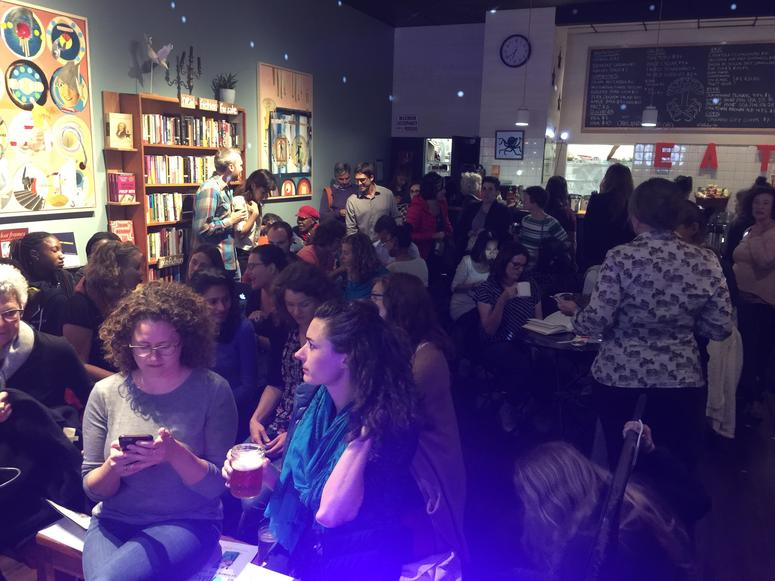 The Octopus Literary Salon may close in Oakland's Uptown neighborhood because of a rent increase.