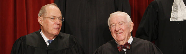 John Paul Stevens Became Liberal As Supreme Court Moved To The Right