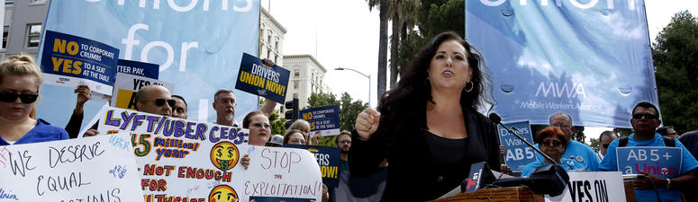 California Enacts Gig Worker Bill, Covering Uber And Lyft Drivers
